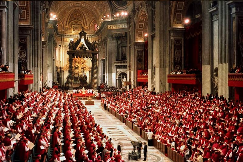 Concilio Vaticano II (foto CNS)
