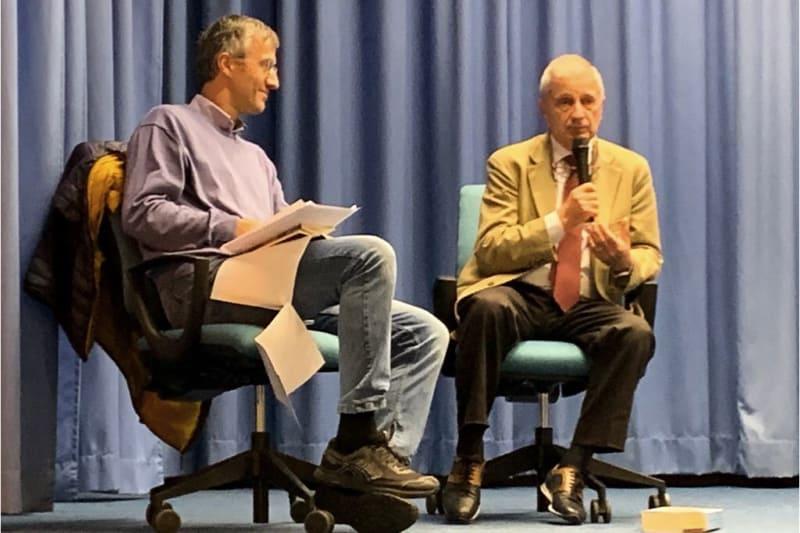 Francesco Agnoli (sinistra) e Piero Benvenuti (destra)