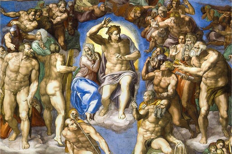 Giudizio Universale di Michelangelo Buonarroti - Cappella Sistina - Roma