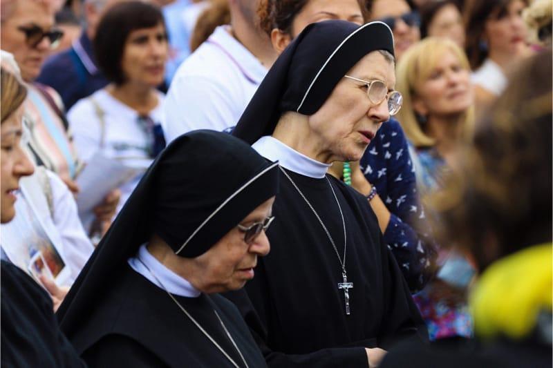Incontro di preghiera per l'anno Chiesa, Roma 05 ottobre 2019 (foto Edward Pentin) 2