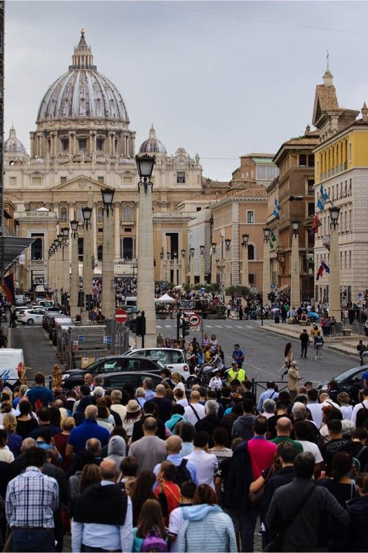 Incontro di preghiera per l'anno Chiesa, Roma 05 ottobre 2019 (foto Edward Pentin) 3