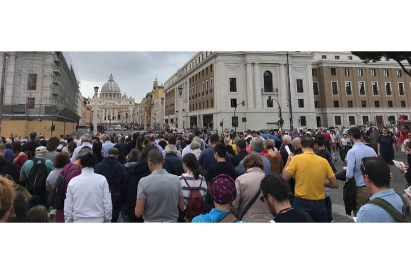 Incontro di preghiera per l'anno Chiesa, Roma 05 ottobre 2019 (foto Edward Pentin) 4