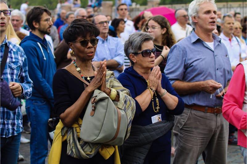 Incontro di preghiera per l'anno Chiesa, Roma 05 ottobre 2019 (foto Edward Pentin) 5
