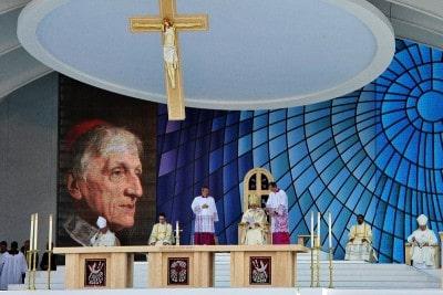 Cerimonia di beatificazione di John Henry Newman presieduta da Papa Benedetto XVI il 19 settembre 2010.