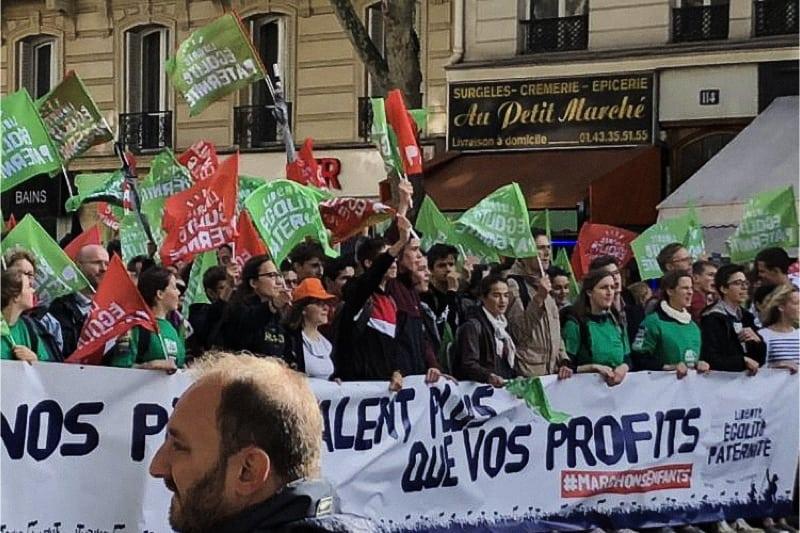 Manifestazione Manif in Francia ottobre 2019