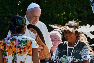 Pachamama e Papa Francesco