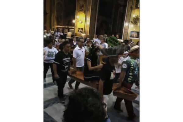 cerimonia liturgica a Roma Sinodo Amazzonia