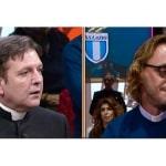 """Video: Giuliano, ex sacerdote, """"sposato"""" con un uomo, affronta don Ariel Levi Di Gualdo a """"Diritto e Rovescio"""""""
