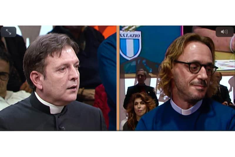 Ex sacerdote Michele sposato e don Ariel Levi Di Gualdo