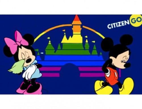CITIZENGO: Disney, basta fare propaganda LGBT nel mondo