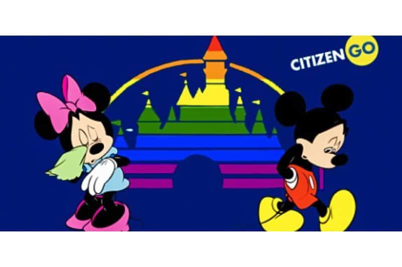 Campagna CitizenGo contro lle pressioni LGBT sulla Disney