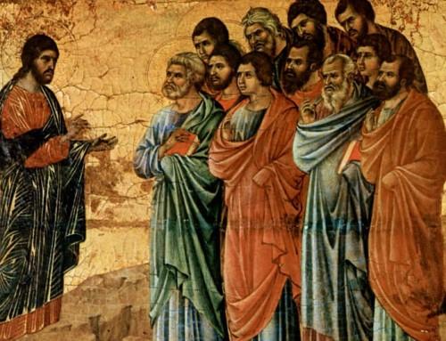 Proprio per essere di Cristo, gli apostoli sono indifesi, esposti agli attacchi di tutti. Non c'è nulla di cui stupirsi, perché l'apostolo incarna Colui che lo manda.