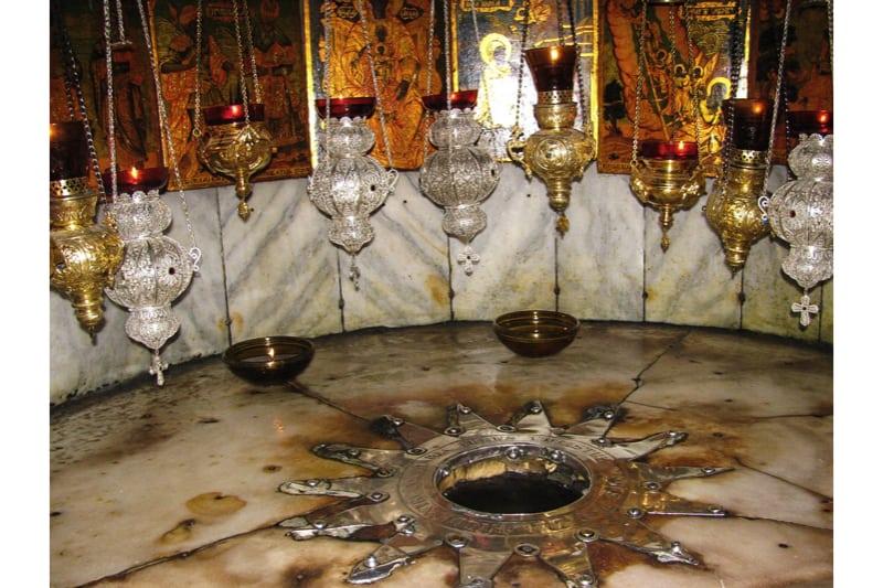 La grotta di Betlemme