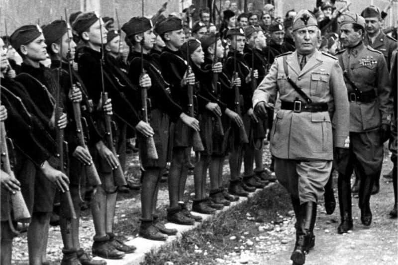 Mussolini in rassegna