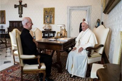 Padre James Martin, gesuita, e Papa Francesco, 30.09.2019