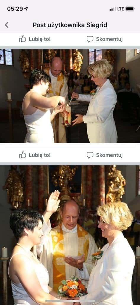 Prete autriaco celebra liturgia per coppie lesbiche in chiesa (Gloria TV)