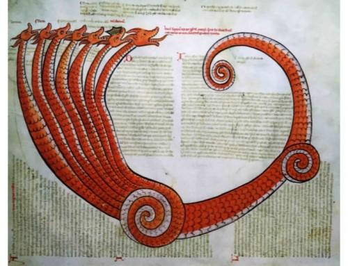 Il Drago con sette teste e dieci corna