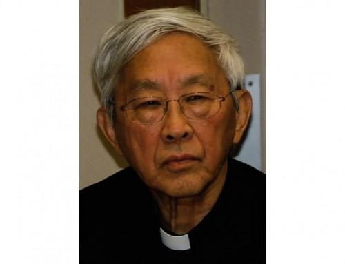 """Card. Zen: """"Sono uno dei due cardinali cinesi viventi e non posso avere una visione dell'accordo Cina-Vaticano"""""""
