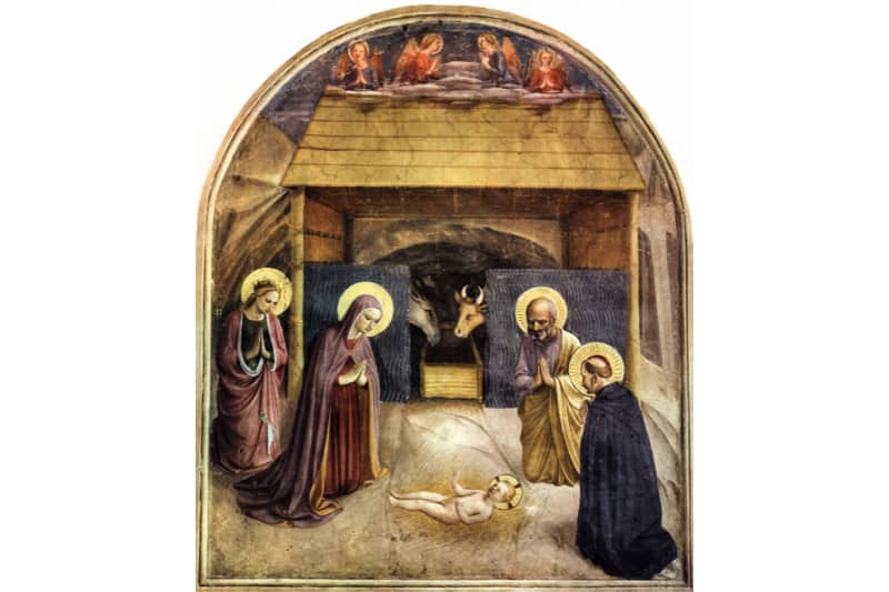 Adorazione del Bambino (Beato Angelico, 1438-1445)