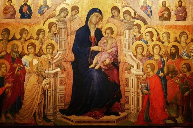 Duccio di Buoninsegna, Maestà del Duomo di Siena