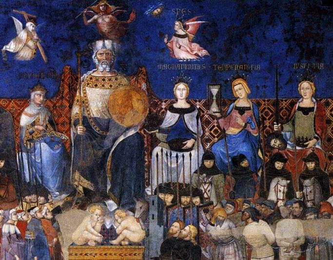 """""""Il bene di tutti"""" – Gli affreschi del Buon Governo di Ambrogio Lorenzetti a Siena"""