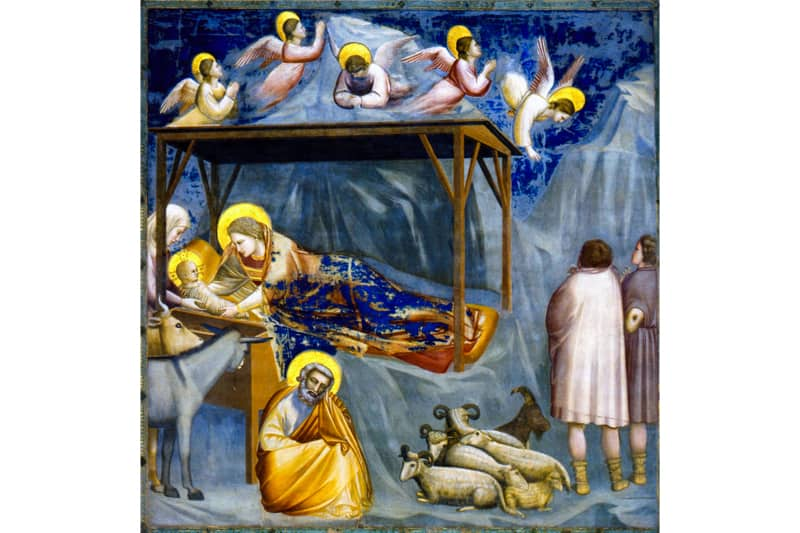 Natività di Gesù - Giotto 1303-1305- Cappella degli Scrovegni a Padova