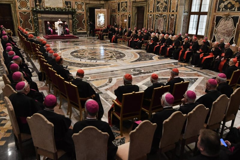 Papa Francesco discorso alla Curia 21 12 2019