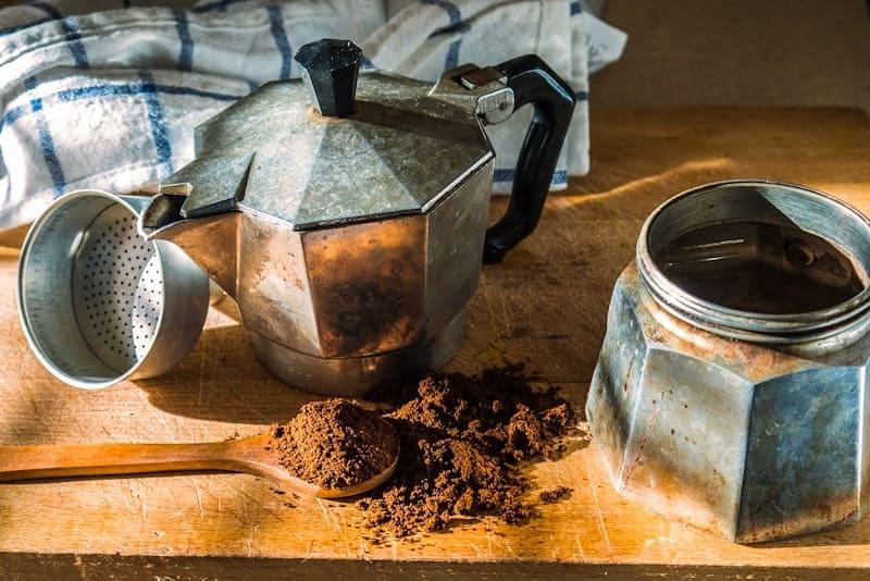 Moka del caffè, caffettiera