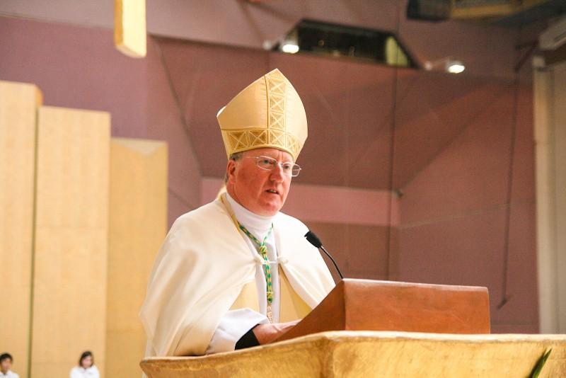 Vescovo Terence Drainey della diocesi di Middlesbrough