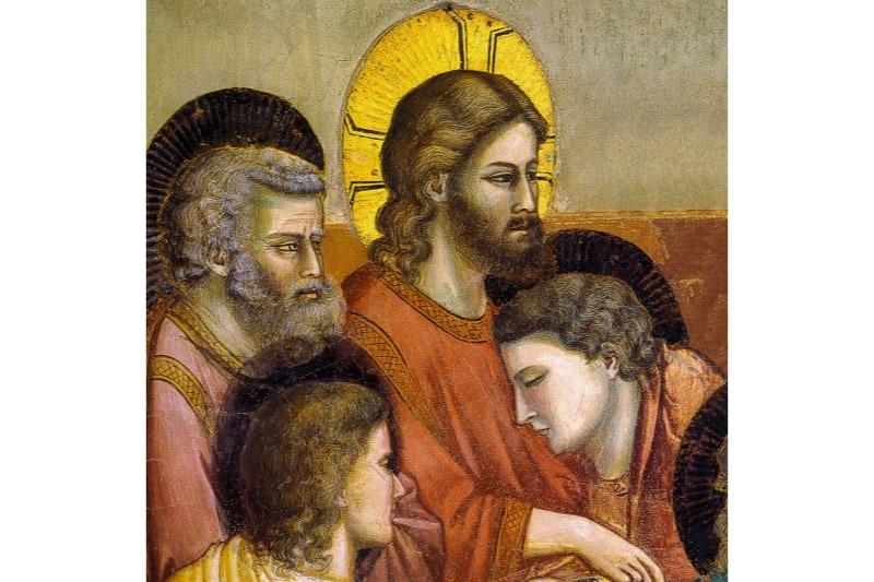 L'ultima cena, Giotto, Cappella degli Scrovegni a Padova