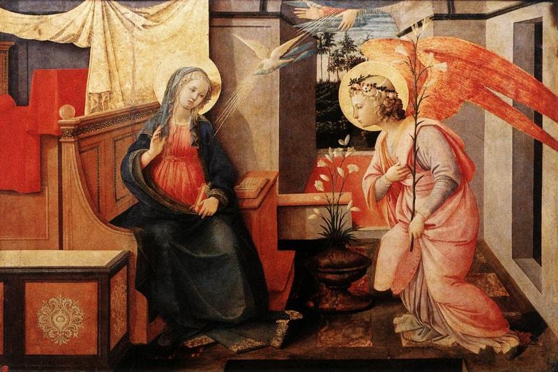 Annunciazione Doria di Filippo Lippi