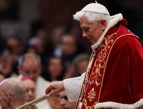 Benedetto XVI: promuovere insieme la pace, la giustizia e il rispetto della creazione? Chiacchiere, Dio è sparito, chi agisce è ormai solo l'uomo.