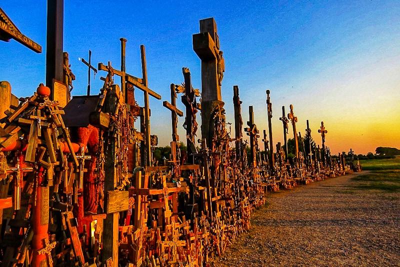 Lituania, la collina delle croci