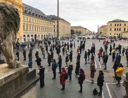 """Dimostrazione contro il """"Cammino sinodale"""" a Monaco di Baviera"""