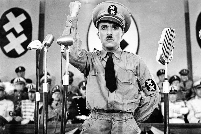 Il Grande dittatore - Charlie Chaplin
