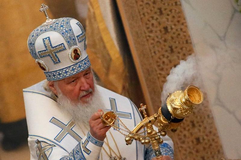 Il patriarca di Mosca Kirill