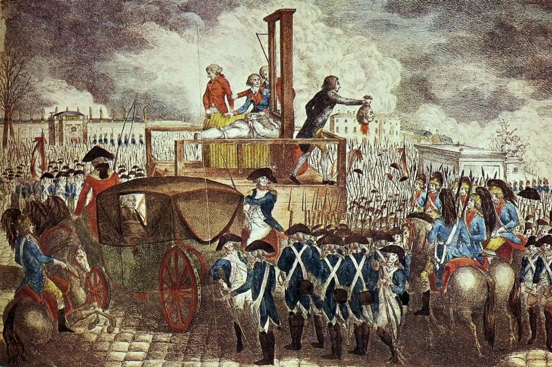 Rivoluzione Francese - Decapitazione di Luigi XVI (21 Gennaio 1793)