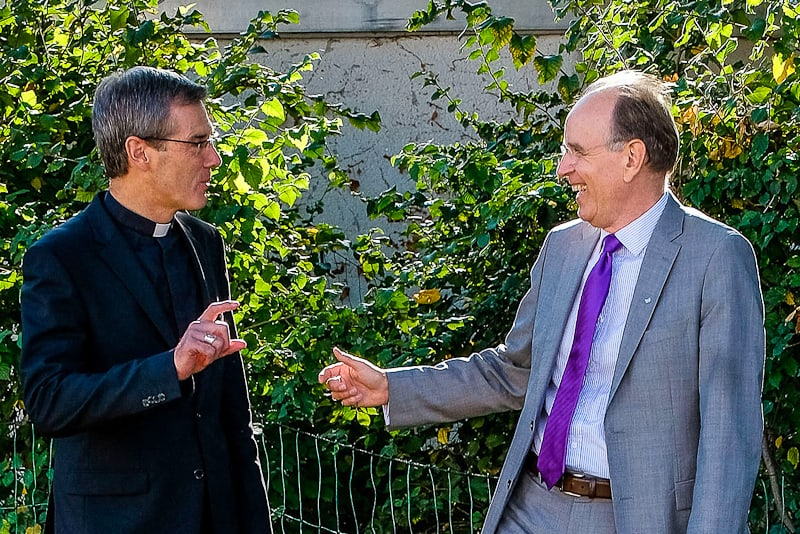 Heiner Wilmer (vescovo cattolico) e Ralf Meister (vescovo evangelico luterano) Foto: Jens Schulze (Nur zur redaktionellen Verwendung - Werbung auf Anfrage!)