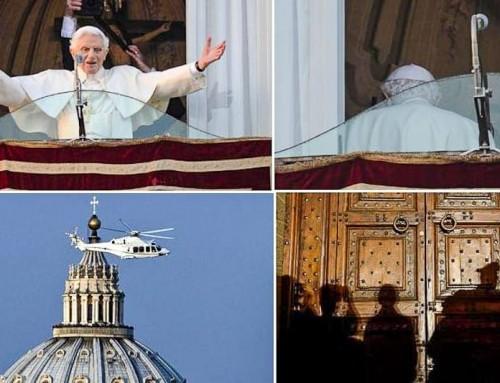 Benedetto XVI, 28.02.2013: la triste partenza