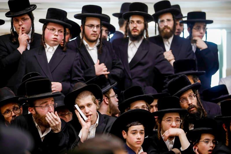 Ebrei ortodossi Credit: Ronen Zvulun/Reuters