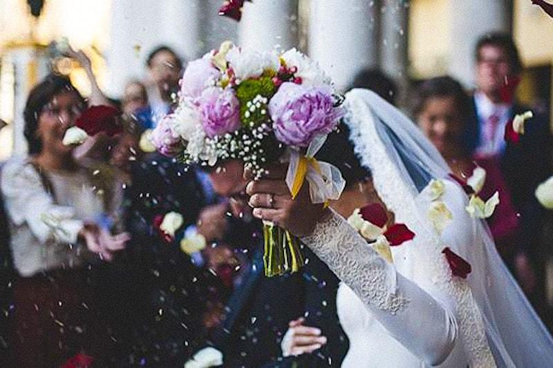 Matrimonio di giovane coppia
