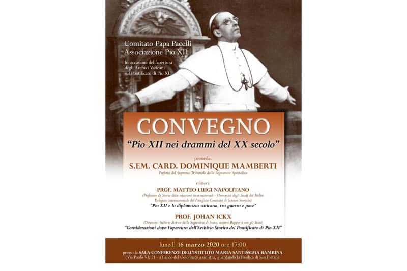 Convegno su Pio XII