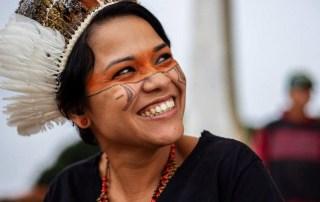 Indigena indigeno dell'amazzonia