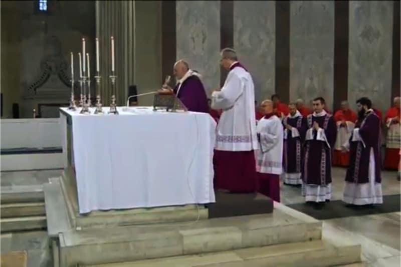 Messa con il Papa 26 02 2020