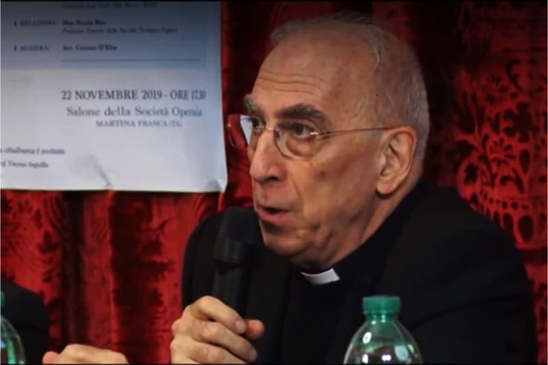 Mons. Nicola Bux (screeshot)