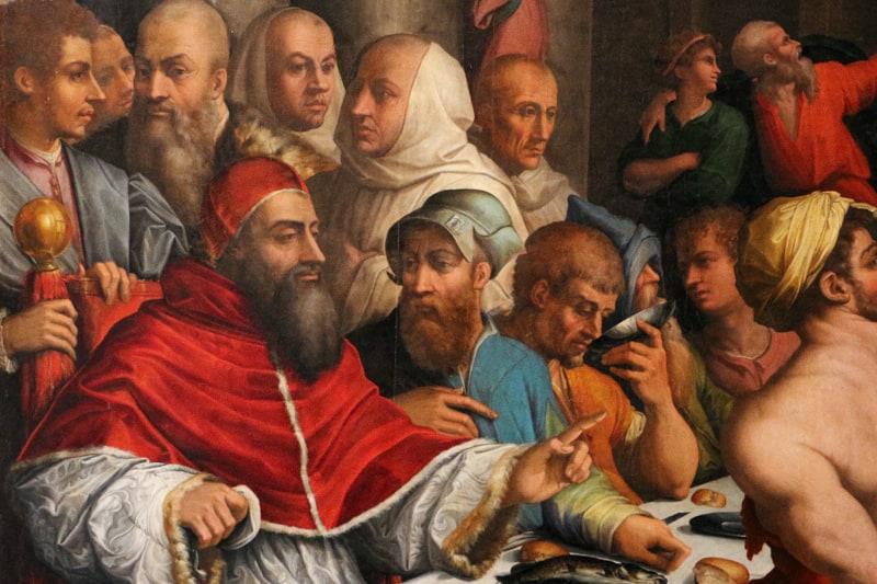 San Gregorio Magno, di Giorgio Vasari