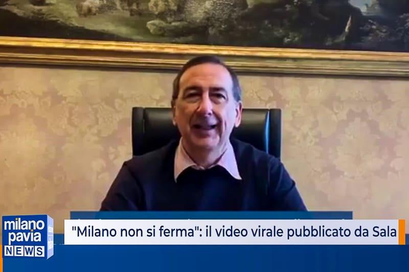 """Beppe Sala """"Milano non si ferma"""""""