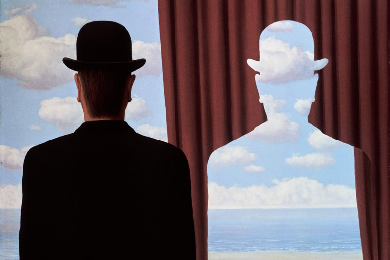 RenÈ Magritte, DÈcalcomanie, 1966