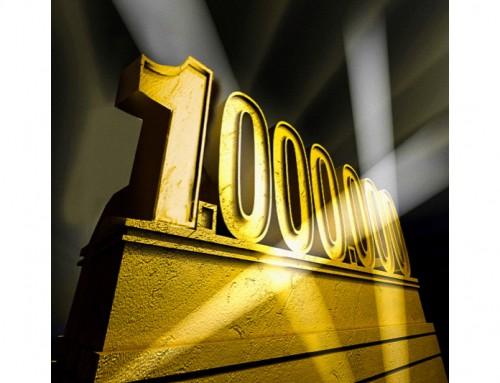 Un milione di lettori!!!