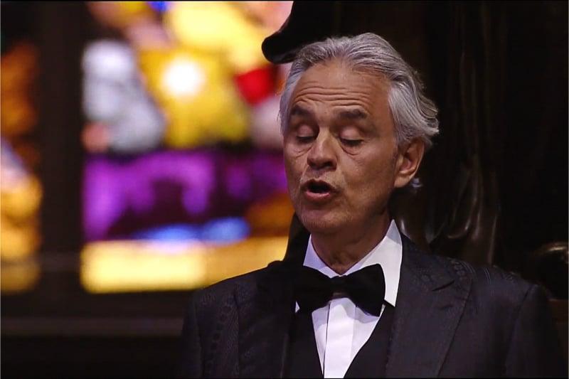 Andrea Bocelli, cantante
